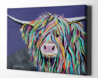"Giclee Canvas Wall Art ""Kev McCoo"" by Steven Brown"
