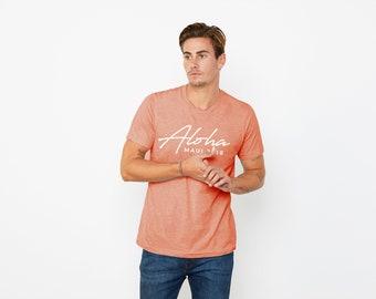 Heather Sunset - Maui Hawaii Jewel Plexus Aloha Men's Unisex Tee
