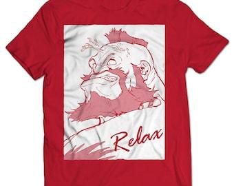 Street Fighter Zangief Relax T-shirt