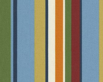 Jungle Stripe Fabric - By The Yard - Boy / Modern / Fabric