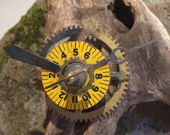 Handmade clock part pin