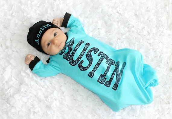 Personalized baby boy clothes custom baby gift boy outfits like this item negle Images