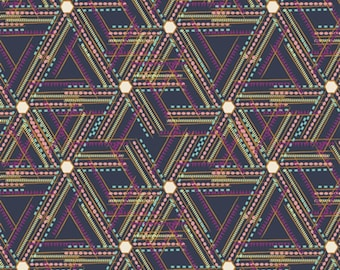1/2 YARD Pat Bravo Indie Collection-Afro Fusion Dusk