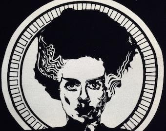 Bride of Frankenstein | Frankenstein | Horror Patch | Punk Patches | Patch