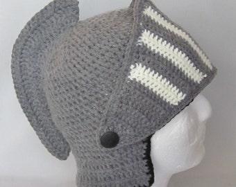 Custom order. Crochet Viking/Trojan/Earflap Hat/ Halloween/Renaissance/Spartan/Titan/Snowboard/Ski Beanie Helmet Hat