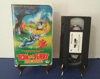 Tom & Jerry The Movie - Circa 1993 - VHS Tape