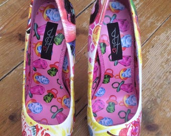 Iron Fist - Sweets For My Sweet - Platform Heels - Size 37