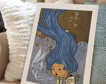 """Customized Print - """"Storm Brewing"""" Ready to Hang"""