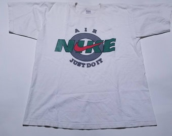 Nike Air Just Do It Vintage White T Shirt XL