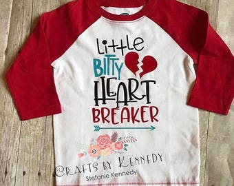 Little bitty heart breaker  / Valentine's Day shirt