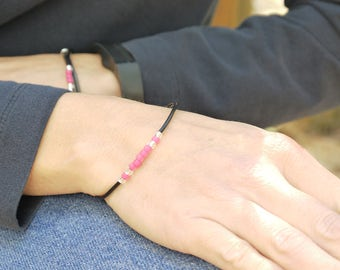 Dainty Bracelet for Women - Delicate Seed Bead Bangle Bracelet - Everyday Bracelet