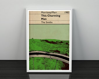 The Smiths This Charming Man inspired Wall Art Poster
