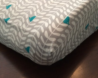 Bird Changing Pad Cover - ORGANIC