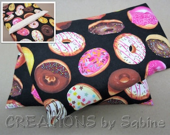 Microwaveable Corn Neck Wrap Washable Cover Corn Pillow Hot Cold Pack Donuts Donut Crazy Foodie Gift Idea Baked Goods READY TO SHIP (545)