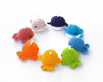 Free Crochet Amigurumi Whale Patterns : Baby humpback whale amigurumi crochet pattern