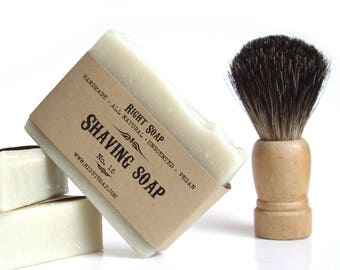 Shaving Soap for Men Birthday Gift Natural Soap Homemade Vegan Soap Gift for Men Valentine Gift