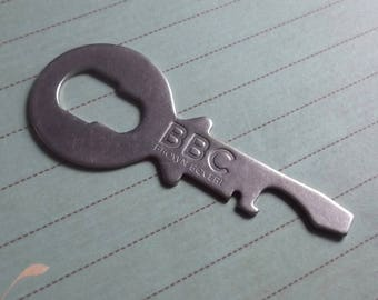 Vintage Advertising Bottle Opener BBC Brown Boveri