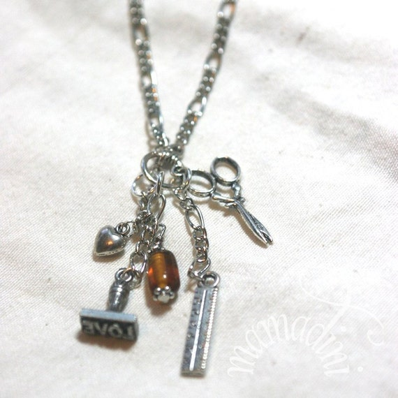 Charm Necklace - Paper Crafter
