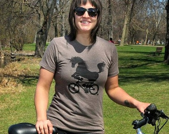 Unicorn-on-a-Bike T Shirt