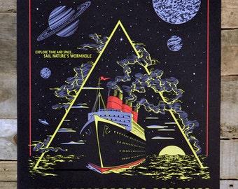"Bermuda Triangle - Glow in the Dark POSTER 12"" x 18"""