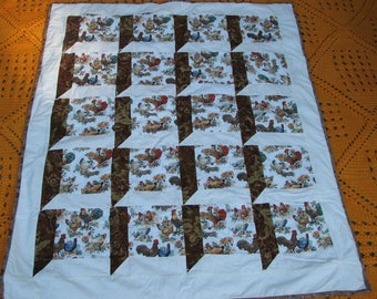 Hand made Picnic Blanket - Baby blanket