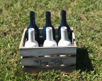 Ring Toss Lawn Game | Outdoor Wedding Navy White