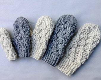Crochet Pattern, Crochet Mitten Pattern, The Cadence Mittens,  Mitten Pattern,  Crochet, Mittens, Pattern, Cabled Mitten, Crochet Cables,