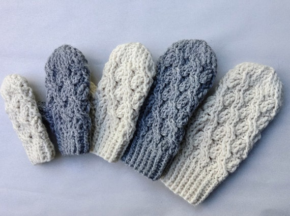 Häkelanleitung häkeln Handschuh-Muster die Kadenz
