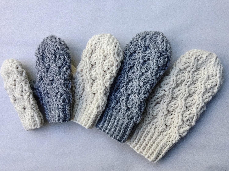 Crochet pattern crochet mitten pattern the cadence mittens zoom bankloansurffo Images