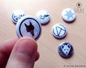Imperium Lupi Pin Badges
