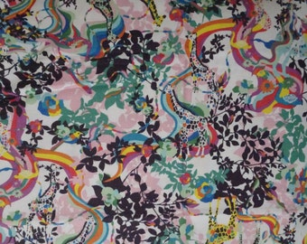 Kayo Horaguchi Rainbow Giraffe Print