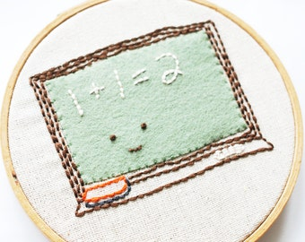 Homework Helpers - Back to School Embroidery Pattern