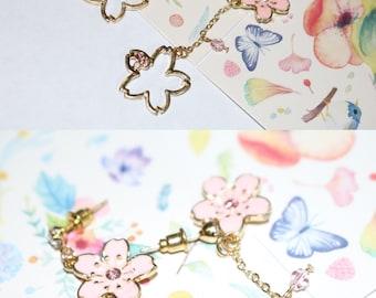Cherry Blossom Earring—Sakura the Soul of Cherry Blossom