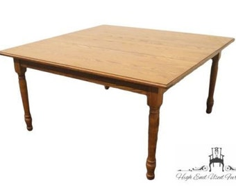 TOM SEELY Solid Oak Dining Table 3216