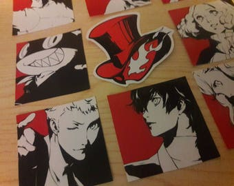 Persona 5 Character Stickers