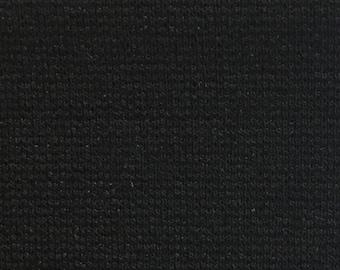 Black Ponti Rayon Nylon 60'' Wide Per Yard