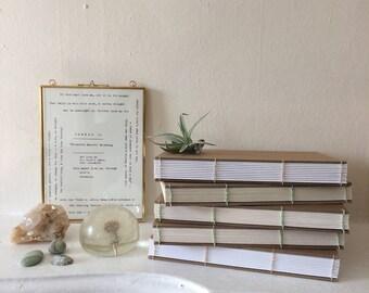 Pilgrim Journal — Coptic Handbound Notebook