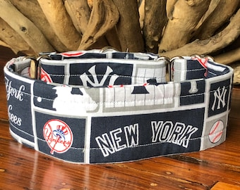 Yankees Greyhound Collar