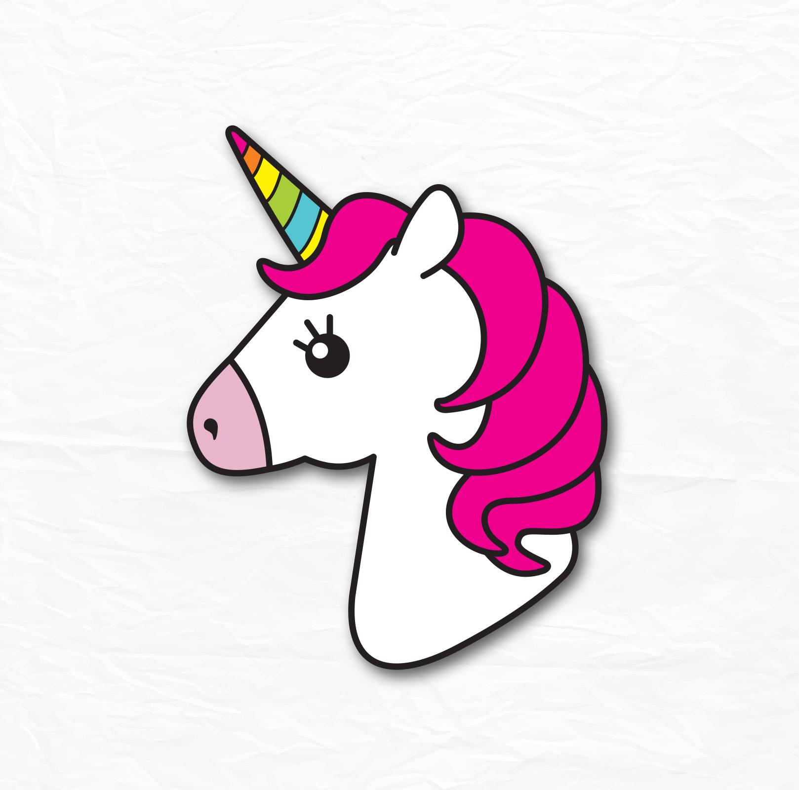 Unicorn Head SVG, Unicorn SVG, Unicorn Clipart, Unicorn ...