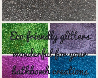 Eco friendly Cosmetic Bio Glitter refill packs