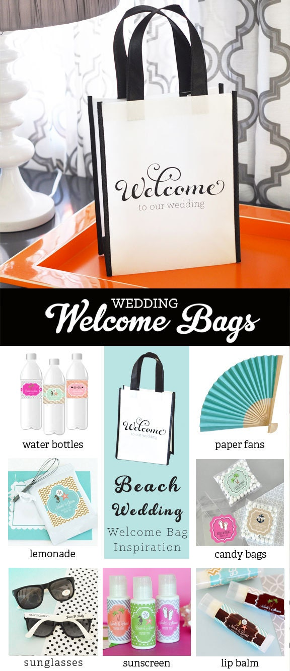 Wedding Welcome Bags Destination Welcome Bags Wedding Hotel