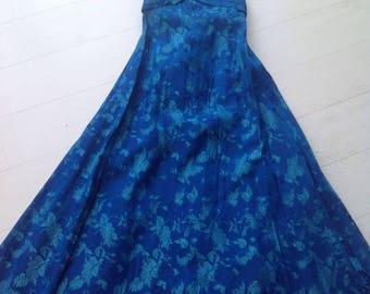 Bohemian Rhapsody 1950's vintage evening gown size 8
