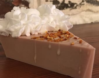 Pumkin Coconut Cream Pie Soap