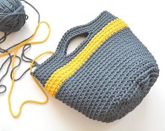 Crochet bag / tote / rope bag / knitted bag / handbag / crochet handbag / matket bag / gift for her / Christmas gifts