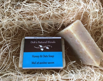 Honey and Oat Natural Soap