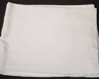 "1920's Pure Linen Double Top Sheet Laundered Unused 100"" x 71-3/4"""