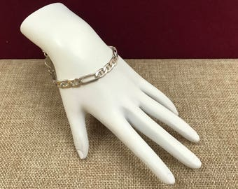 Vintage Italy 925 Sterling Silver Bracelet!!!! Free US Shipping!!!