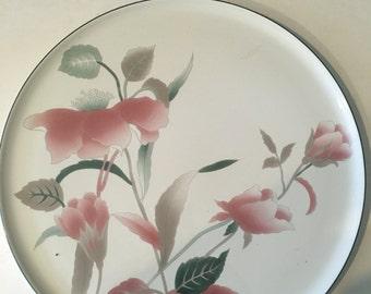Mikasa platter - silk flowers & Mikasa silk flowers | Etsy