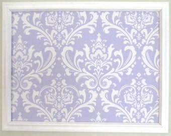 Lavender or Pink Damask Jewelry Board Pin Board