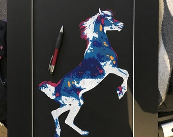 Horse Silkscreen Print